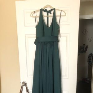 Emerald/ Forest Green Gown